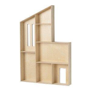 Miniature Funkis House Wandplank