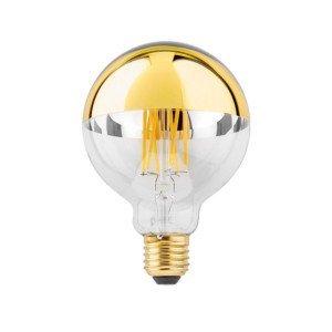 LED E27 G95 6W Gouden Kopspiegel