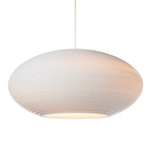 Disc Hanglamp Wit