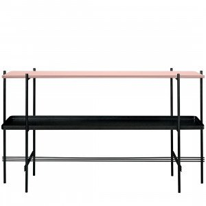 TS Console Tafel Top Glass, met tray