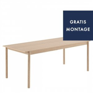 Linear Wood Eettafel