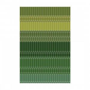 Zig Zag Vloerkleed Groen