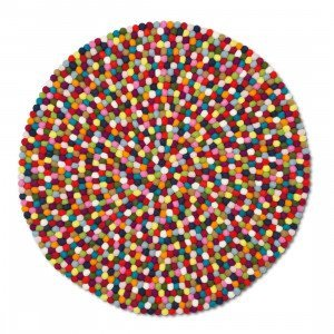 Pinocchio Karpet Multi Colour Bolletjeskleed