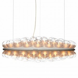 Prop Light Round Double Horizontal Hanglamp
