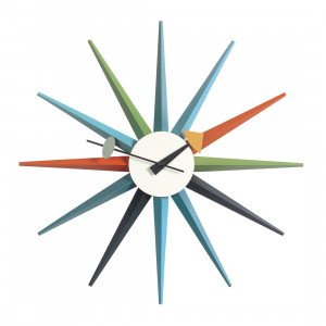 Sunburst Clock Klok