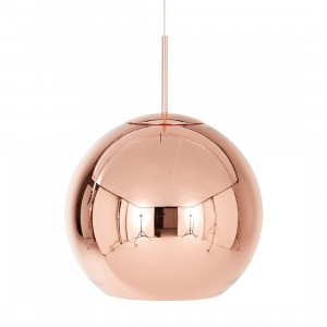 Copper Shade Round Hanglamp