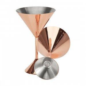 Plum Martini Glazen, set van 2