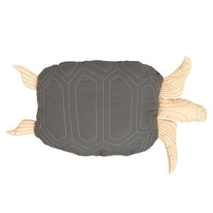 Turtle Quitled Kussen