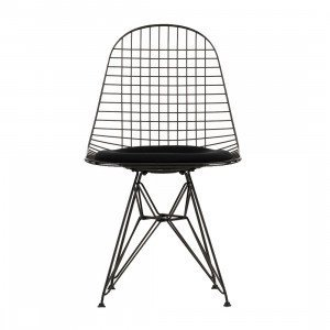 Wire Chair DKR Gestoffeerd