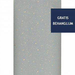 Ferm Living Confetti Behang Grijs
