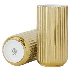 Lyngby Porcelaen Lyngby Vaas Gold