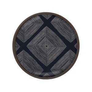 Ethnicraft Linear Squares Dienblad Rond