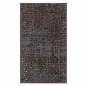 Gan Rugs Abstract Charcoal Canevas Vloerkleed M