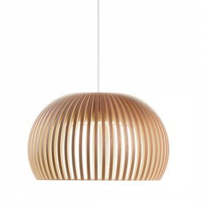 Secto Design Atto 5000 Hanglamp Walnoot