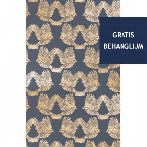 Ferm Living Birds Behang (op=op)