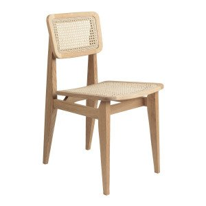Gubi C-Chair Stoel French Cane