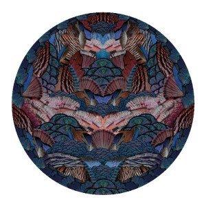 Moooi Carpets Calligraphy Bird Vloerkleed