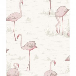 Cole & Son Flamingos Behang 958045