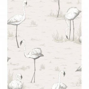 Cole & Son Flamingos Behang 958046