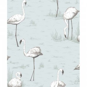 Cole & Son Flamingos Behang 958047