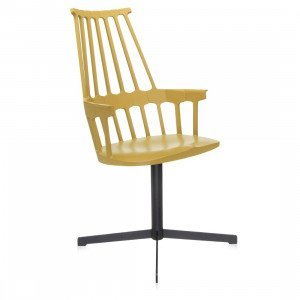 Kartell Comback Chair Stoel, Draaibaar