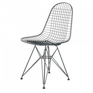 Vitra Wire Chair DKR Stoel Zwart