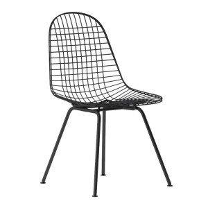 Vitra Wire Chair DKX Stoel Zwart