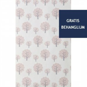 Ferm Living Dotty Behang Roze (op=op)