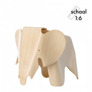 Vitra Plywood Elephant Miniatuur