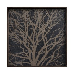 Ethnicraft Black Tree Dienblad Vierkant