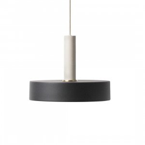 Ferm Living Collect Record Zwart High Hanglamp