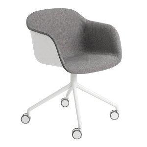 Muuto Fiber Armchair Bureaustoel, Niet Verstelbaar