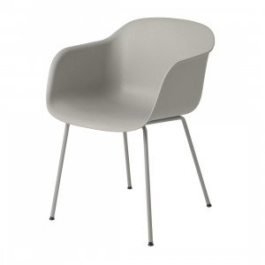 Muuto Fiber Chair, stalen poten