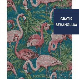 Arte Flamingo Behang