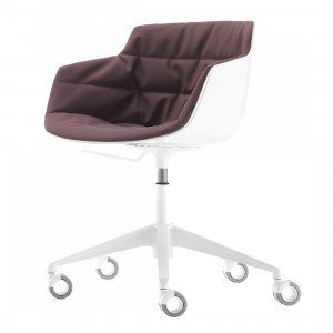 MDF Italia Flow Slim Chair Bureaustoel