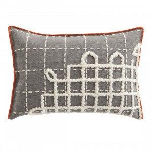 Gan Rugs Cushion Bandas Kussen, A Grey