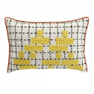Gan Rugs Cushion Bandas Kussen, C Yellow