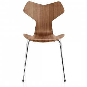 Fritz Hansen Grand Prix Stoel Naturel Fineer