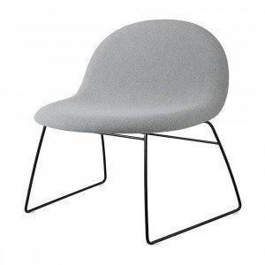 Gubi 3D Loungestoel Slede, gestoffeerd