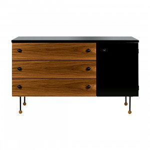 Gubi Grossman Dressoir, 3 laden