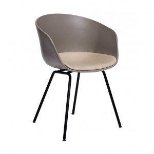 HAY About a Chair AAC 26 Stoel Met Vast Zitkussen