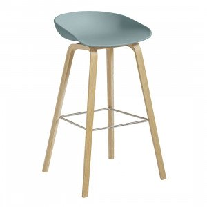HAY About A Stool AAS 32 Barkruk Naturel Gelakt 64 cm
