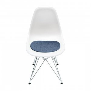 Hey-Sign Eames Plastic Sidechair Zitkussen Anti-slip 10 mm. Gevuld