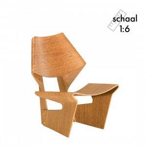 Vitra Laminated Chair Miniatuur
