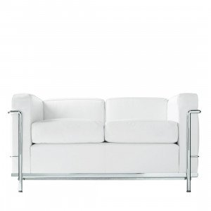 Cassina LC2 2-zits Bank