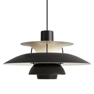 Louis Poulsen PH 5 Hanglamp Monochroom