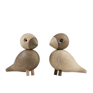 Kay Bojesen Lovebirds Vogels