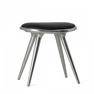 Mater Low Stool Recycled Aluminium, 47 cm