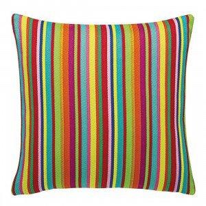 Vitra Maharam Millerstripe Multicolored Bright Sierkussen