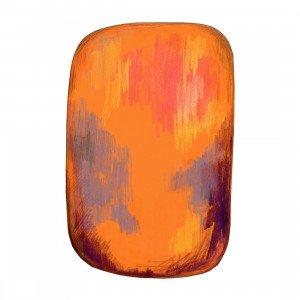 Moooi Carpets Scribble Vloerkleed Oranje/Geel